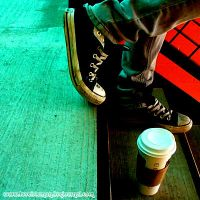 Coffee and Converse by Hikarusan1993
