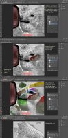 Feral Heart UV clarifying TUTORIAL - canine by 7KnoX