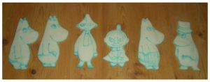 Moomin cookies by estranged-illusions