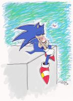 Sonic loves Ice Cream by Sparky2hot4ya