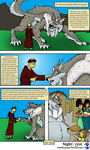 St Francis and the Wolf Of Gubbio by NightCrestComics
