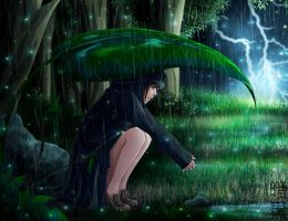 Under the rain. by NaryaBlackfyre