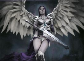 Akroma, Angel of Wrath by BryanFR