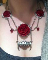 Vampire Necklace by xXChaosCandyXx