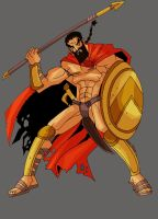 Leonidas by The-Satsui
