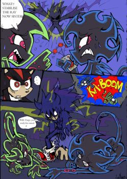 Coloured!Sonic PSG Style sketch comic pg 2 by Auroblaze