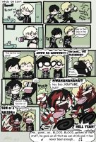 Gee's real SHAVING accident by Chocoreaper
