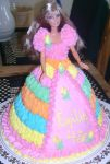 Barbie Cake by LizzyLix