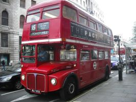 Routemaster In Service by betterwatchit