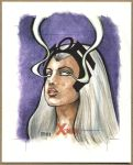 STORM, X-Men Sketch Card by Erik-Maell