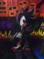 SHADOW THE HEDGEHOG POSTER ( 1 view) by djjafeth