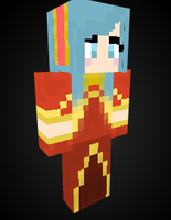 Sona in Minecraft by Endette