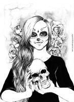 Scull girl by Vegeta3690