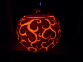 Swirly Pumpkin by kazary