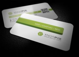 Consultancy Business Card by xnOrpix
