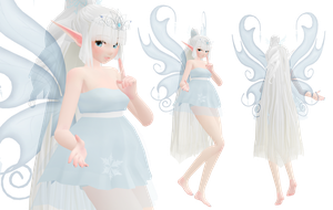 MOTME - Winter/Ice/Frost Faery by Rayne-Ray