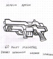 ArmaLite RM500 Assault Rifle by ALol