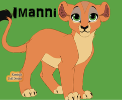 Imanni: Cub Creator by YourFavoritePABS