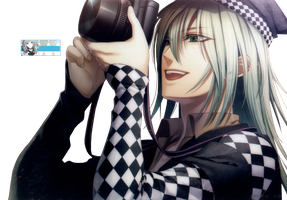 AMNESIA . Ukyo photo Render by Rikku923