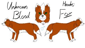 Unknown Blood - Fox Reference by fluffylovey