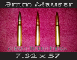 8mm Mauser by CliffEngland