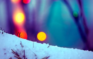 Snow Bokeh by JohnKyo