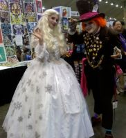 Otakon 2010- Mad Hatter 4 by SweeneyT-DemonBarber