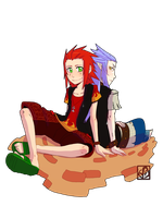 KH - Friends Again by Dedmerath