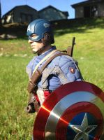 Captain America Hot Toys Collectible Figure by TohruIchi