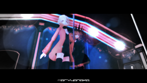 MMD blonde is bad by marvyanaka