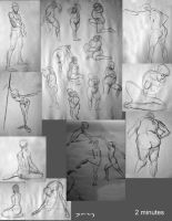 Life Drawings - 2 Mins by Sycra