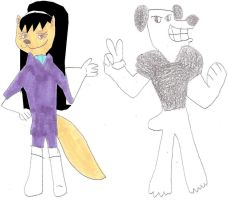 Dudley and Kitty by jacobyel