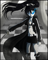 Fanart - Black Rock Shooter by InuHoshi