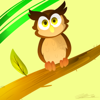Owl by Mayriuxis