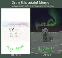Draw this again meme - Uffa by Gianara