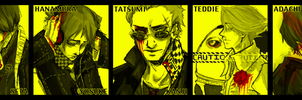 Persona 4 Guys by Curenio
