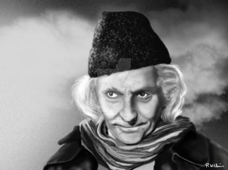 1st Doctor - William Hartnell by Fulgrim65