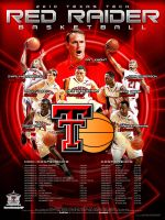 10 ttu mens basketball poster by Satansgoalie