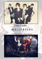 Aoi x Uruha  Duo Wallpapers by TrapnestPink