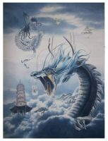 rise of blue dragon by lituhayu