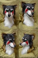 Hunter Wolf Head by temperance