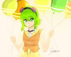 Gumi [Vocaloid Fan art] by HikariTetsuya
