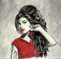 Amy Winehouse by vistaguzza