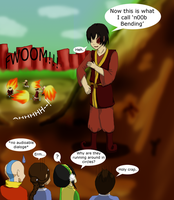 n00b Bending: Zuko by Cherry-sama
