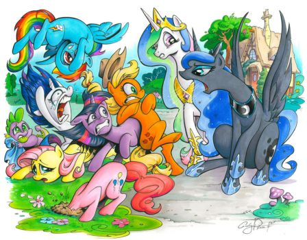 The Royal Canterlot Voice, My Little Pony by andypriceart
