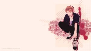 LuHan Wallpaper by somebodyinmyheart