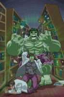The HULK Animated by fernandogoni