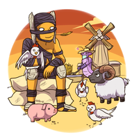 Farm sweet farm by keterok