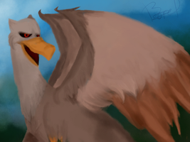 Griffin by BorelightArt