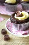Rolo Cupcakes by claremanson